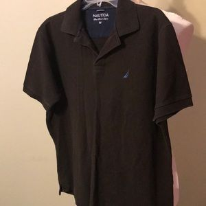 Nautica Dark brown polo shirt